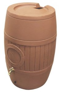 Rain Saver Rain Barrel for Rain Gutters - Terracotta - Gutter Tex - Austin, TX