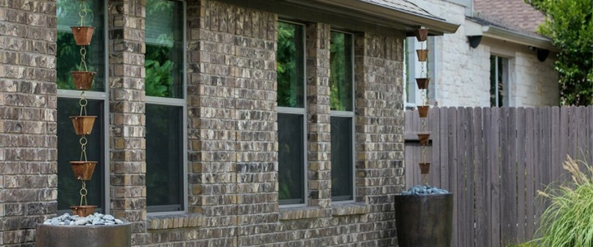 Rain Chains An Elegant Touch To Your Gutter System