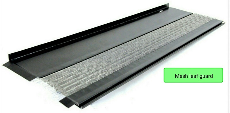 Gutter Guards - GutterTex - Mesh Leaf Guard