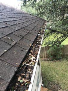Gutter Cleaning - gutter screen gutter guard to prevent leaves - Austin TX - Gutter Tex