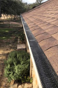 Gutter Protection - Gutter Tex - San Antonio, TX - Leaf Guard Expanded Wire Gutter Guards