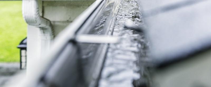 Seamless Rain Gutters During Rainfall - Austin, TX - Gutter Tex