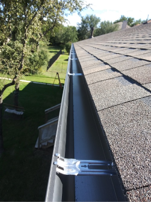 Seamless Rain Gutters - Gutter Tex - Lakeway, TX - Seamless Gutters installed on roof