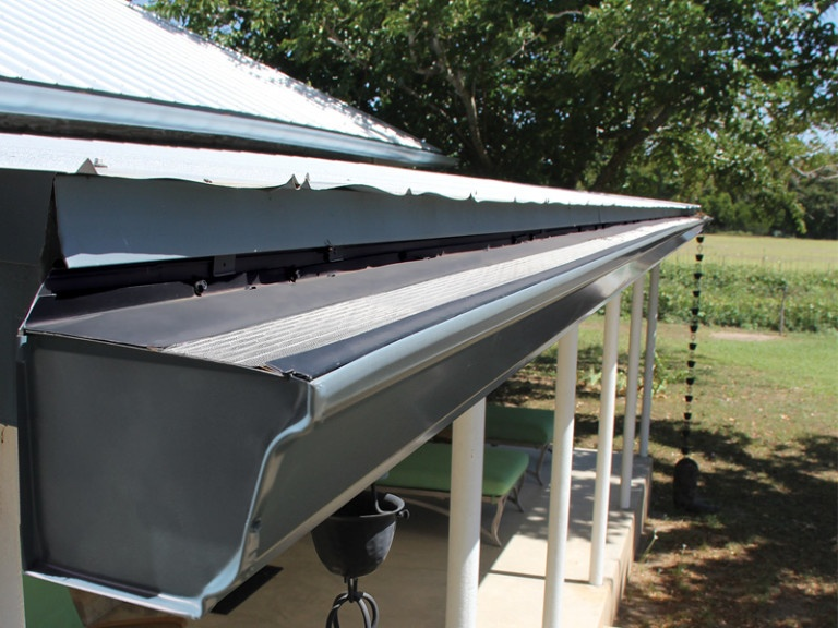Leaf Guard for Gutters - Austin TX - Gutter Tex